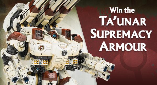 Ta'unar Supremacy Armour