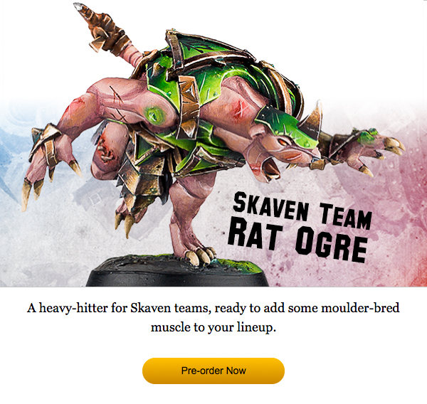 Skaven Team Rat Ogre