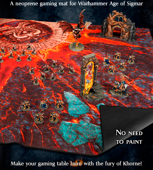 Warhammer Age of Sigmar Battle Mat