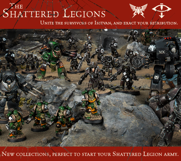 The Shattered Legions Collections