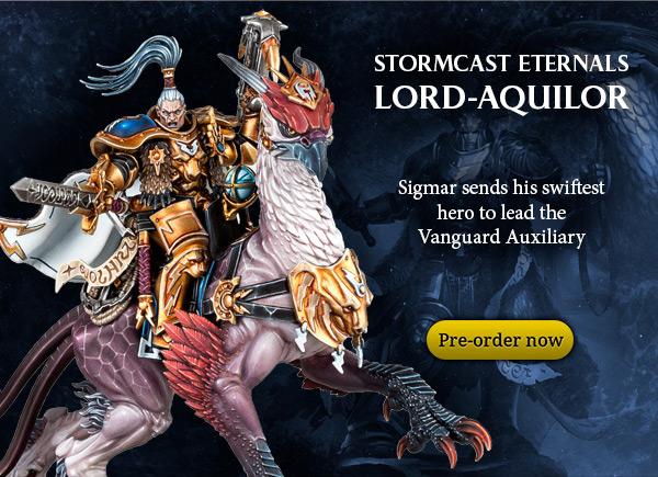 Stormcast Eternals Lord-Aquilor, Pre-order now