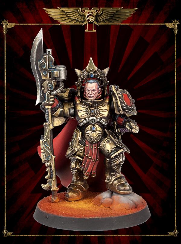 Legio Custodes Shield Captain