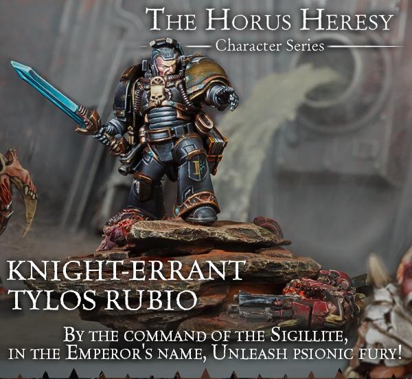 Knight-Errant Tylos Rubio