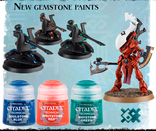 New gemstone paints