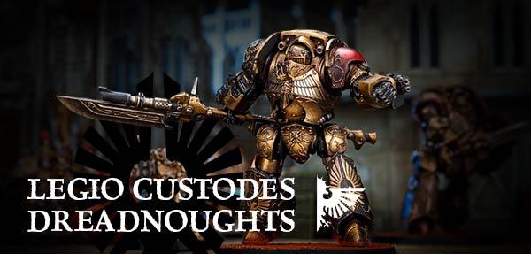 Legio Custodes Dreadnoughts