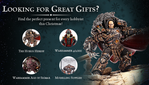 Forge World Christmas Gift Guide
