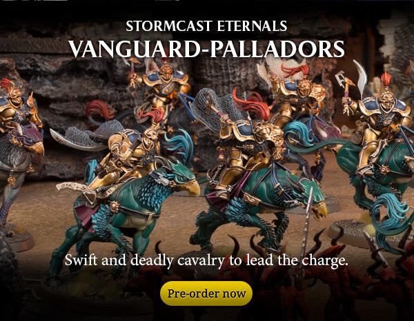 Stormcast Eternals Vanguard-Palladors, Pre-order now