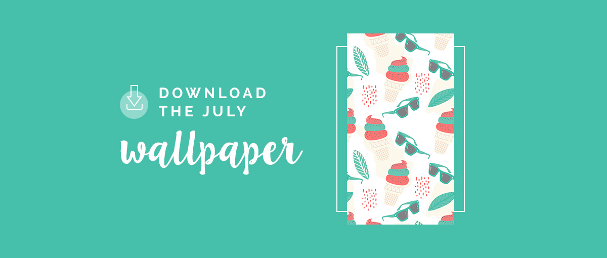 Download the July Wallpaper