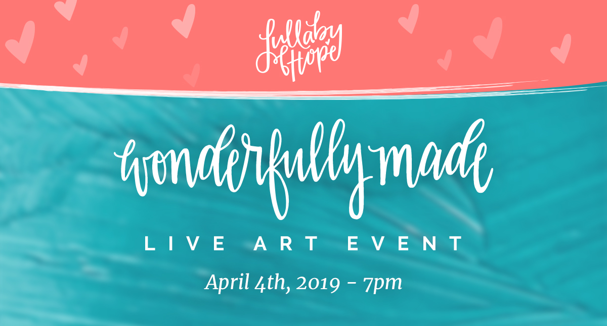 Wonderfully Made Live Art Event