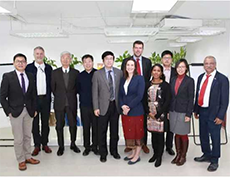A group picture will al the partners from different Organizations attending the meeting in China