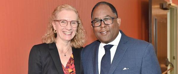 Dr. Carol Mangione & Supervisor Mark Ridley Thomas