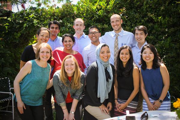 NCSP, NRSA, VA 1st year fellows