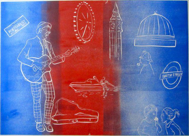 A London Reminition Print