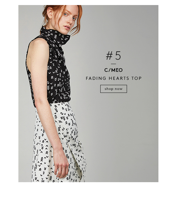 C/MEO / Fading Hearts Top