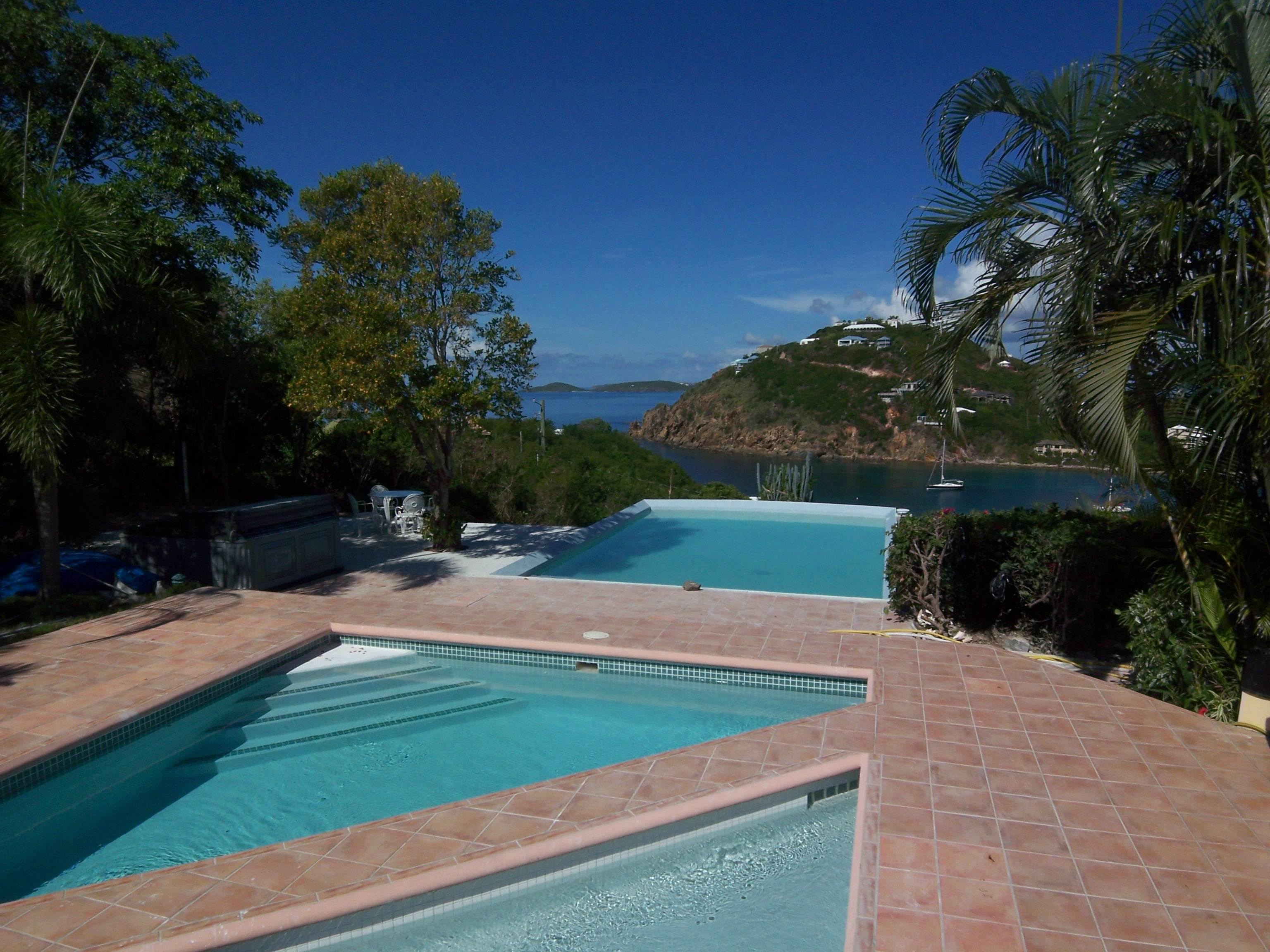 St John villa swimming pools