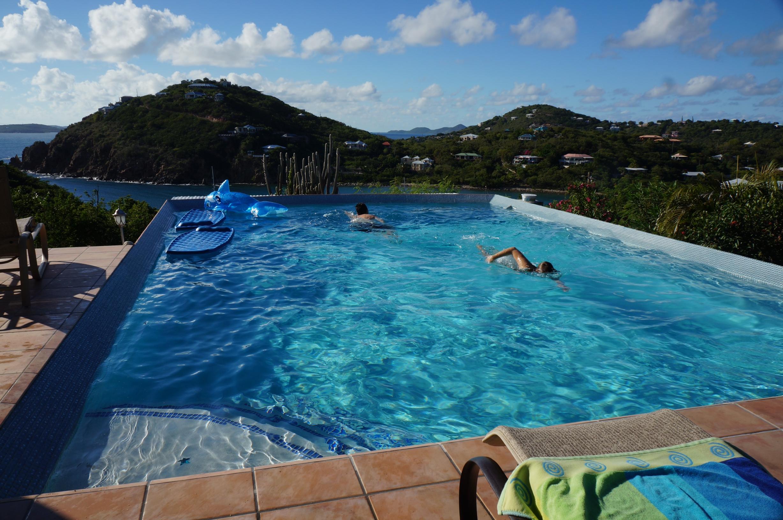 st john villa lap pool
