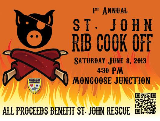 st john rib cook off