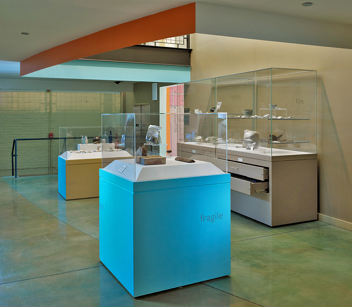 Installation View: City Beneath the City @ Stanford Archaeology Center