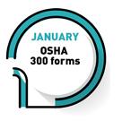 JANUARY   OSHA 300 Forms