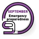 SEPTEMBER   Emergency preparedness