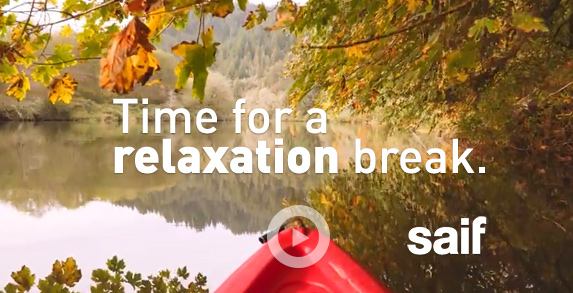 Time for a relaxation break.