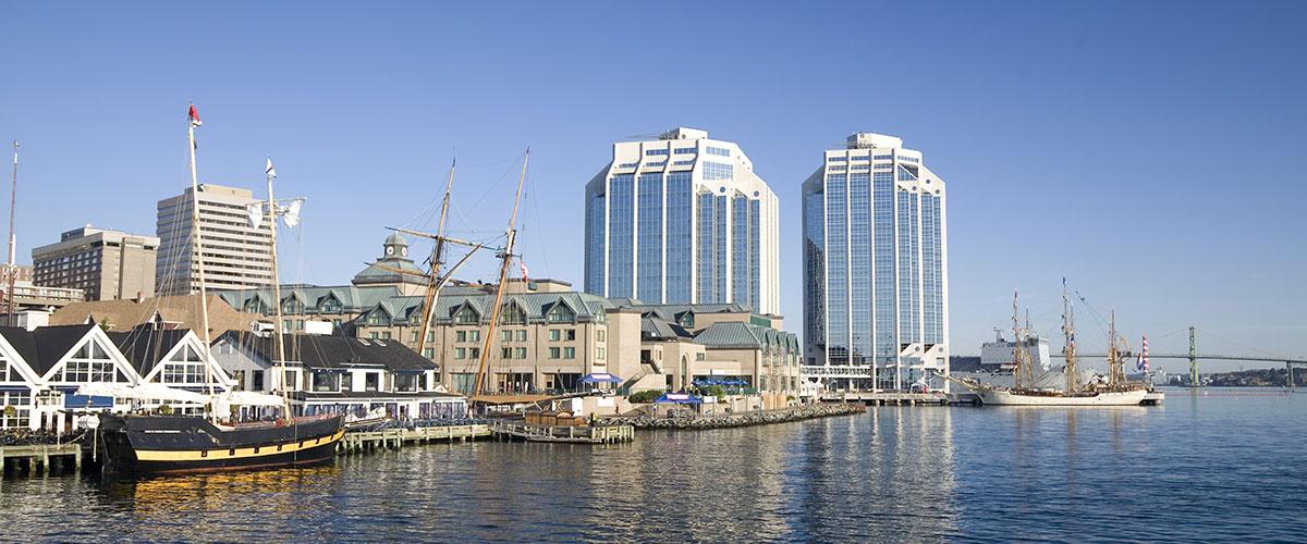 Photo of Purdy's Wharf in Halifax, Nova Scotia