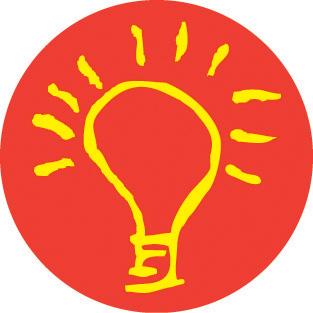 Kokua I Na Kula Light Bulb Logo