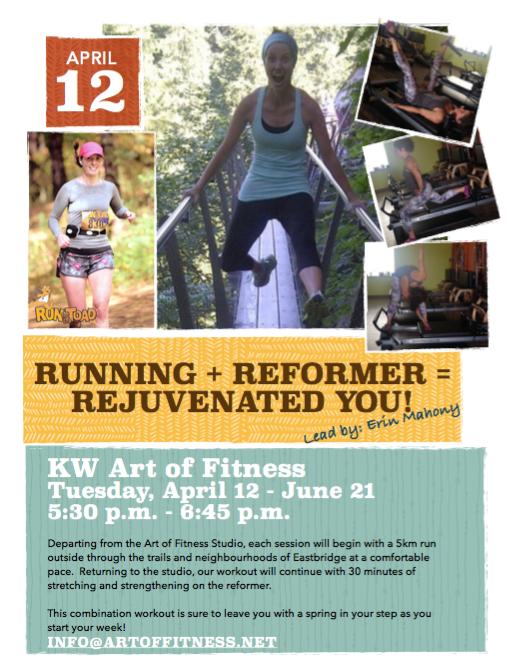Running + Reformer