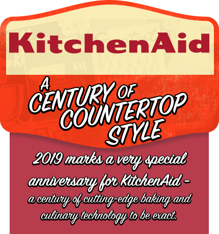 KitchenAid: A century of countertop style - 2019 marks a very special anniversary for KitchenAid - a century of cutting-edge baking and culinary technology to be exact.