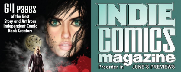 Indie Comics Magazine Summer Issue