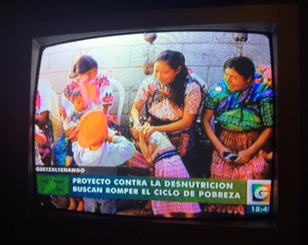 Guatevision's Pop Wuj Nutrition Program feature