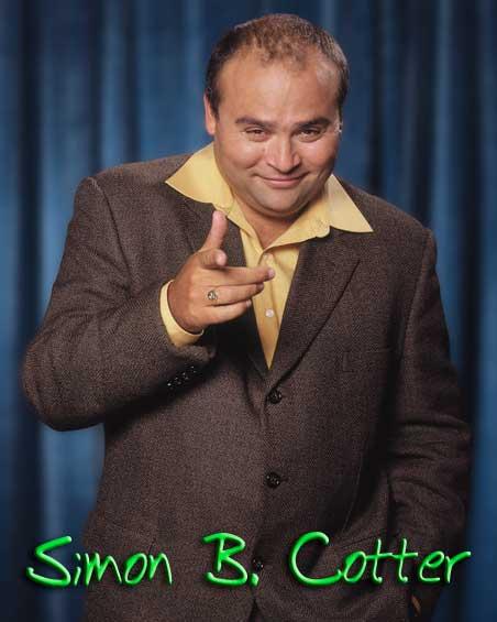 Comedian Simon B. Cotter - March 31