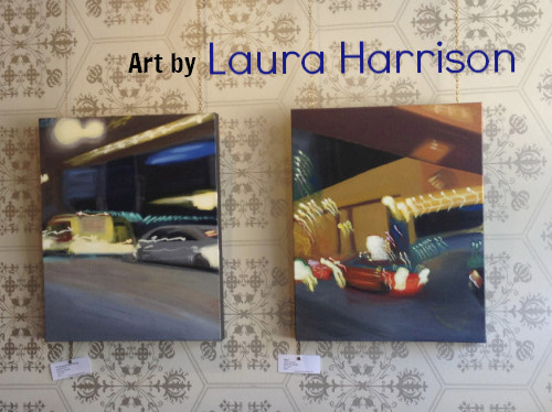 Laura Harrison Art Show ends SAT. AUG. 27