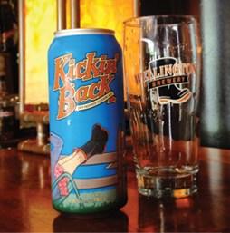 Wellington Brewery's Kickin' Back Dry Hopped Session Ale