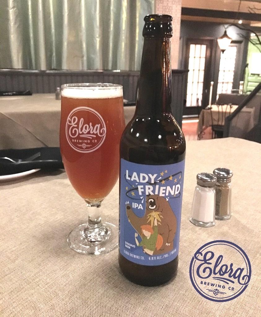Elora Brewery's Lady Friend IPA