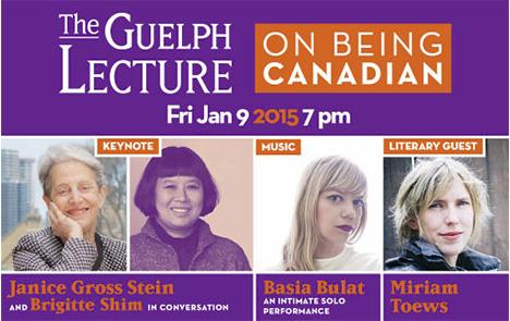 Guelph Lecture - FRI. JAN. 9 @ River Run Centre