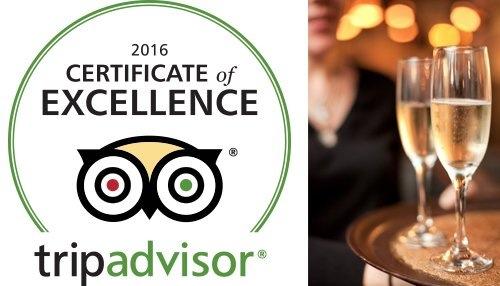 TripAdvisor Certificate of Excellence 2106