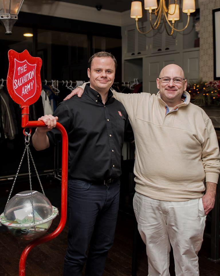 Jamie Mitges + Ryan Seguin of The Salvation Army
