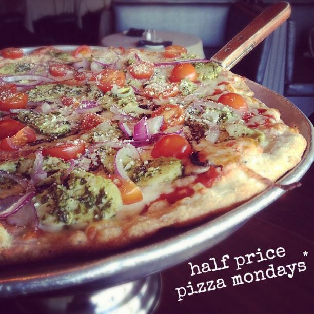 half price pizza mondays