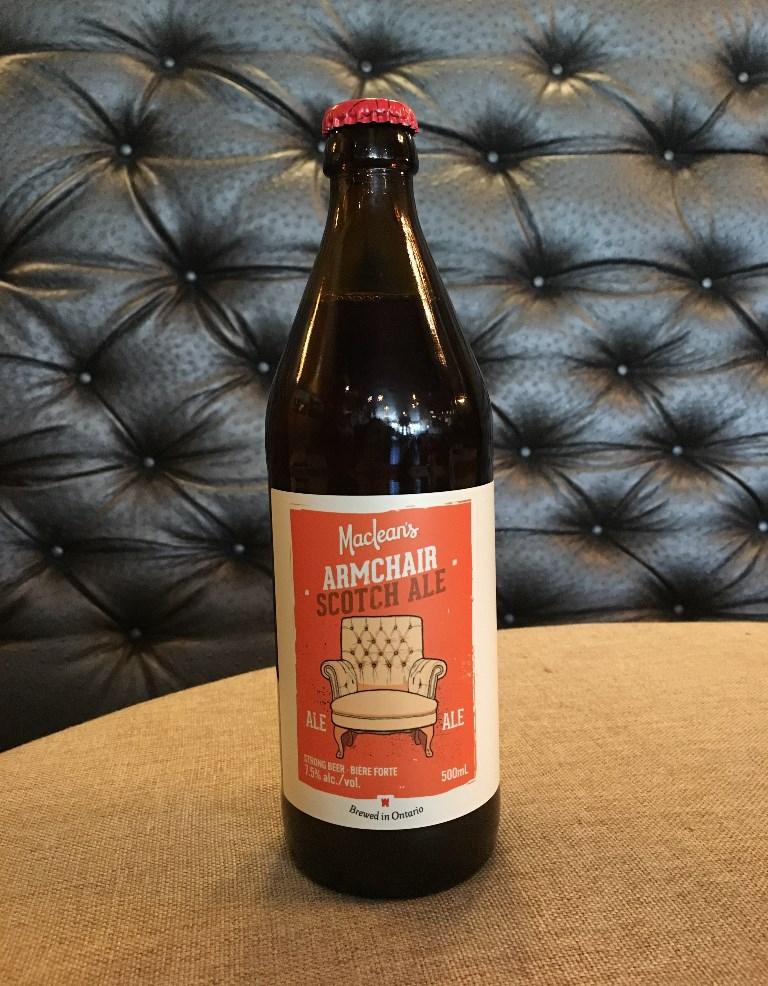 Maclean's Armchair Scotch Ale