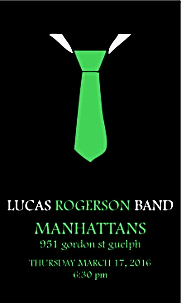The Lucas Rogerson Band - March 17 @ 7pm