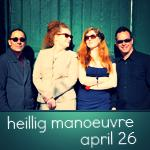 heillig manoeuvre - april 26