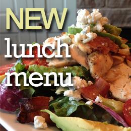 new business class lunch menu mon-fri 11-4