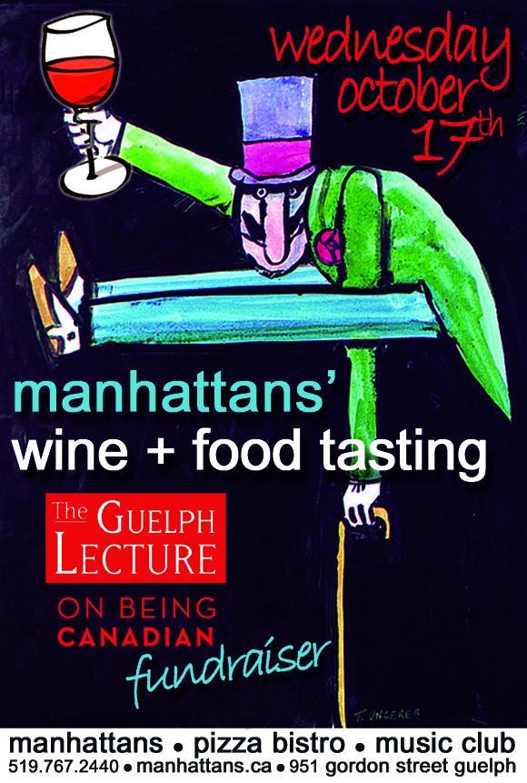 manhattans' wine + food tasting