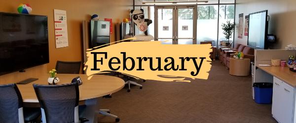 Decorative Image: February