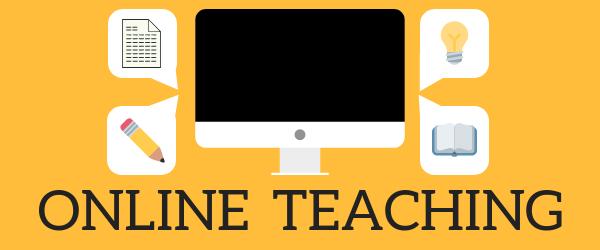 Decorative Image: Online Teaching