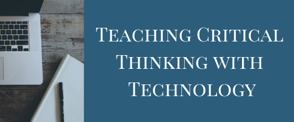 Decorative Image: Teaching Critical Thinking with Technology