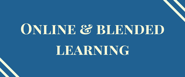 Decorative Image: Online and Blended Learning