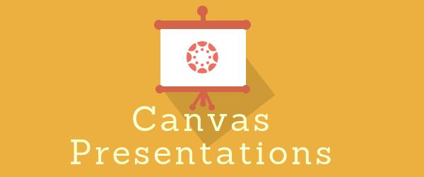 Decorative Image: Canvas Presentations