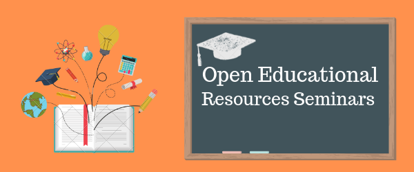 Decorative Image: Open Educational Resources Seminars